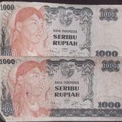 Uang Rp. 1.000 Tahun 1968 (30501357) di Kota Jakarta Barat
