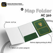 Map Folder Custom Design Full Printing Ukuran 23x34 Bahan AC 310 (30510583) di Kota Jakarta Timur