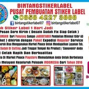 Jasa Cetak Stiker Label (30511068) di Kab. Tegal