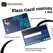 Kartu Elektronik - Flazz Card BCA Custom Full Colour 1 Sisi Saldo 0 (30517328) di Kota Jakarta Timur