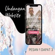 Undangan D I G I T A L Pernikahan Video W E B S I T E Buy 1 Get 3 (30518328) di Kota Bandung