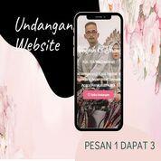 Undangan D I G I T A L Pernikahan Video W E B S I T E Buy 1 Get 3 (30518410) di Kota Bandung