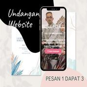 Undangan D I G I T A L Pernikahan Video W E B S I T E Buy 1 Get 3 (30518539) di Kota Bandung
