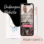 Undangan D I G I T A L Pernikahan Video W E B S I T E Buy 1 Get 3 (30518744) di Kota Bandung