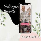 Undangan D I G I T A L Pernikahan Video W E B S I T E Buy 1 Get 3 (30518816) di Kota Bandung