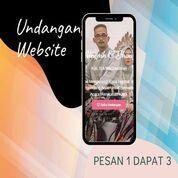 Undangan D I G I T A L Pernikahan Video W E B S I T E Buy 1 Get 3 (30518845) di Kota Bandung