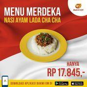 BAKMI GM Menu Merdeka Nasi Ayam Lada Cha-cha Rp. Rp 17.845,- (30519099) di Kota Jakarta Selatan