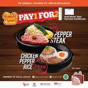 Pepper Lunch Pay 1 For 2! (30519495) di Kota Jakarta Selatan