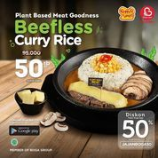 Pepper Lunch Beefless Curry Rice for only 50k! It will brighten your day! (30519535) di Kota Jakarta Selatan