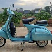 Vespa Super Tahun 1970 Biru (30533432) di Kota Bekasi