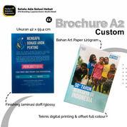 Cetak Brosur Art Paper Ukuran A2 Full Colour Custom Design (30535004) di Kota Jakarta Timur