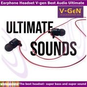 Terbaru V Best Audio Ultimate HQ Earphone (30543016) di Kota Jakarta Timur