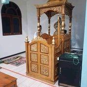 Mimbar Masjid Pakai Kubah (30544158) di Kab. Banyuasin