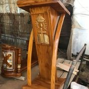 Podium Gereja Minimalis Kayu Jati (30544165) di Kab. Banyuasin