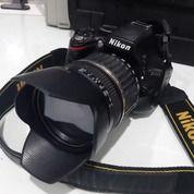Kamera DSLR Nikon D5100, Lensa Tamron 18-200mm (30544270) di Kota Semarang
