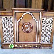 Meja Pengajian Meja Majelis Podium Lesehan (30555582) di Kota Jakarta Pusat