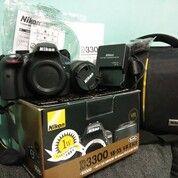 Nikon D3300 Kit Fullset (30555855) di Kota Malang