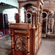 Mimbar Masjid Pakai Kubah Atap F-19 (30557059) di Kab. Cianjur