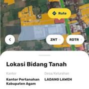 Tanah Luas 5000 M Di Jalan Kapas Panji Padang Lua Bukittinggi Samping Showroom Toyota Auto 2000 (30563338) di Kota Bukittinggi