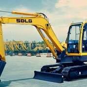 ALAT BERAT SDLG Mini Excavator (30580102) di Kab. Tapanuli Selatan