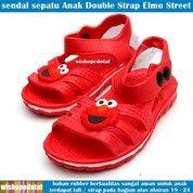 Sepatu Anak Karet Double Strap Elmo Rubber Terbaru (30593613) di Kota Jakarta Timur
