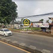 Tanah Pinggir Jalan Raya Jakarta Bogor Cilodong Depok (30596178) di Kota Depok