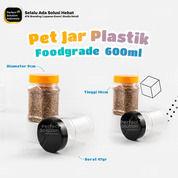 Toples Tabung - Pet Jar Plastik Ukuran 0,6ml Bening + Tutup (30597866) di Kota Jakarta Timur