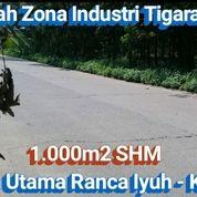 Tanah Industri 1.000m2 Jalan Utama Dekat Pemda Tigaraksa Tangerang (30601467) di Kab. Tangerang