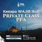 Private Class PPA (30617296) di Kota Bandung