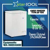 STARCOOL Freezer Kaca Frizer Kaca Geser 100 L SF-100 (30627747) di Kota Jakarta Barat