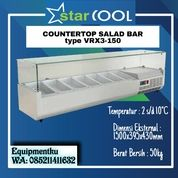 STARCOOL VRX3-150 COUNTER TOP SALAD CASE - TANPA PAN (30629613) di Kota Jakarta Barat