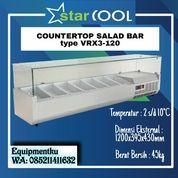 STARCOOL VRX3-120 COUNTER TOP SALAD CASE - TANPA PAN (30629620) di Kota Jakarta Barat