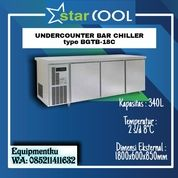 STARCOOL STAINLESS STEEL UNDER COUNTER BAR CHILLER TIPE BGTB-18C (30630045) di Kota Jakarta Barat