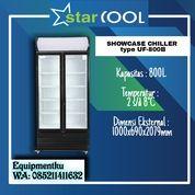 STARCOOL Double Door Showcase Cooler UF-800B Lemari Pendingin (30630959) di Kota Jakarta Barat