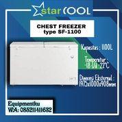 CHEST FREEZER STARCOOL SF-1100 (2Pintu) (30631237) di Kota Jakarta Barat