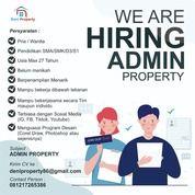 Dibutuhkan Admin Property (30668233) di Kab. Malang