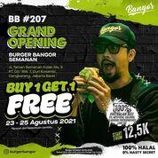 Burger Bangor Grand Opening Promo BUY ONE GET ONE (30675173) di Kota Jakarta Barat