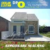 RUMAH DI PERUM SONG SONG PUSKOPAD SINGOSARI MALANG (30701330) di Kab. Malang