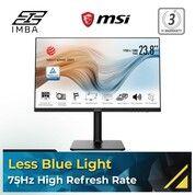 "MSI Modern MD241P 23.8"" Full HD LCD Monitor - 16:9 - Matte Black (30703447) di Kota Surakarta"