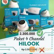 Free Jasa Ongkos Pasang Paket CCTV HILOOK 4Camera 2MP (30711100) di Kota Medan