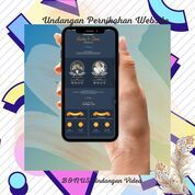 Undangan Pernikahan Digital Murah (30711635) di Kota Bandung