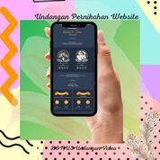 Undangan Pernikahan Digital Website Gratis Video (30711822) di Kota Bandung