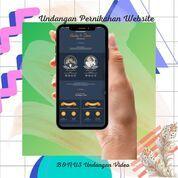 Undangan Pernikahan Mewah Website Gratis Video (30711960) di Kota Bandung
