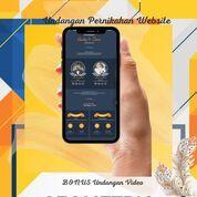 Undangan Pernikahan Mewah Website Gratis Video (30712087) di Kota Bandung