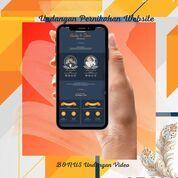 Undangan Pernikahan Unik Website Gratis Video (30712097) di Kota Bandung