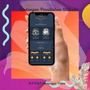 Undangan Pernikahan Digital Website Gratis Video (30712394) di Kota Bandung