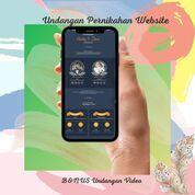 Undangan Pernikahan Unik & Murah Website Gratis Video (30712476) di Kota Bandung