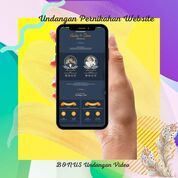 Undangan Pernikahan Mewah Website Gratis Video (30712640) di Kota Bandung
