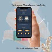 Undangan Pernikahan Mewah Website Gratis Video (30712732) di Kota Bandung