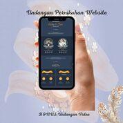 Undangan Pernikahan Website Gratis Video (30712909) di Kota Bandung